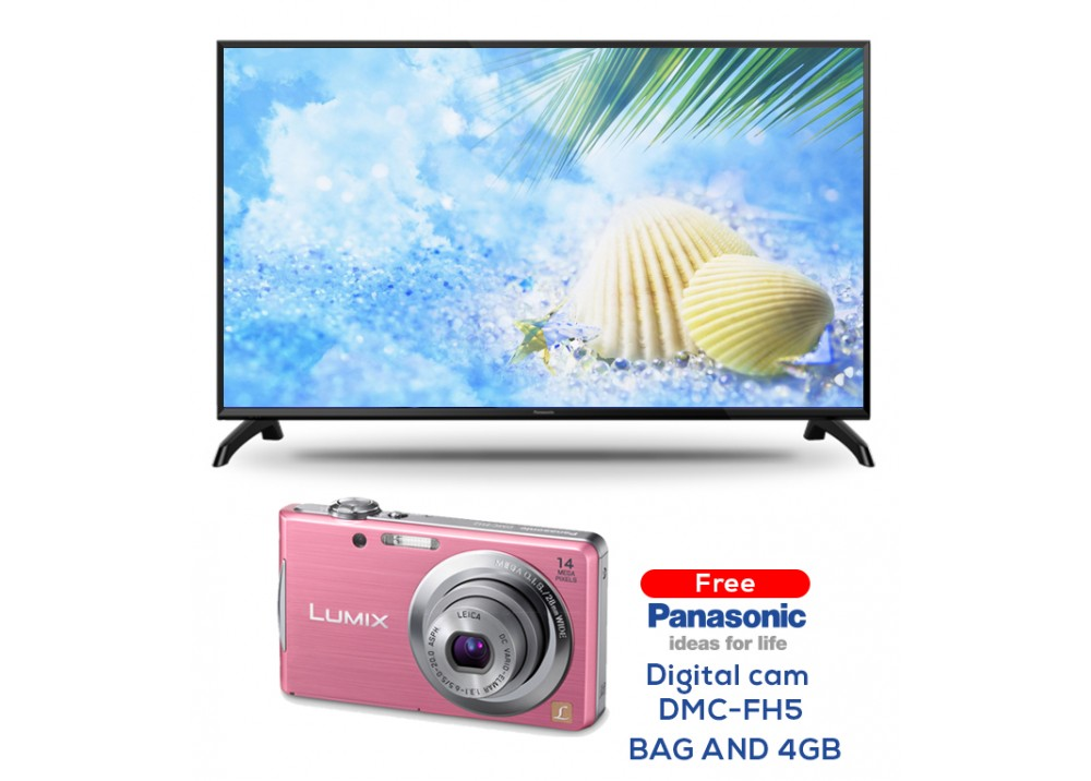 "PANASONIC LED TV 32"" TH-32C310M  WITH FREE GIFT DIGITAL CAM PINK DMC - FH5/BAG AND 4GB CHINA"