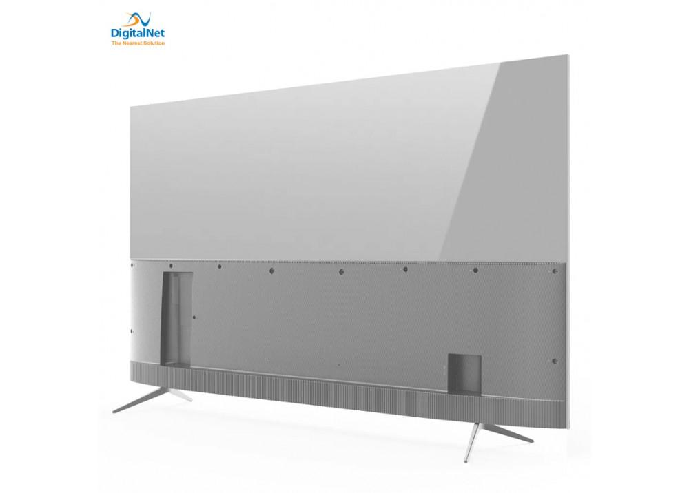 """TCL LED TV P6US SMART 4K 65"""" SILVER"""