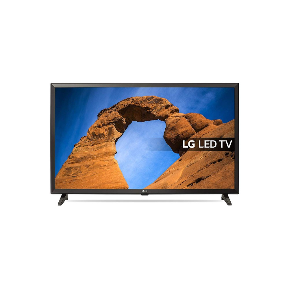 "LG LED TV 32"" LK510BPLD HD WITH RECIVER BLACK"