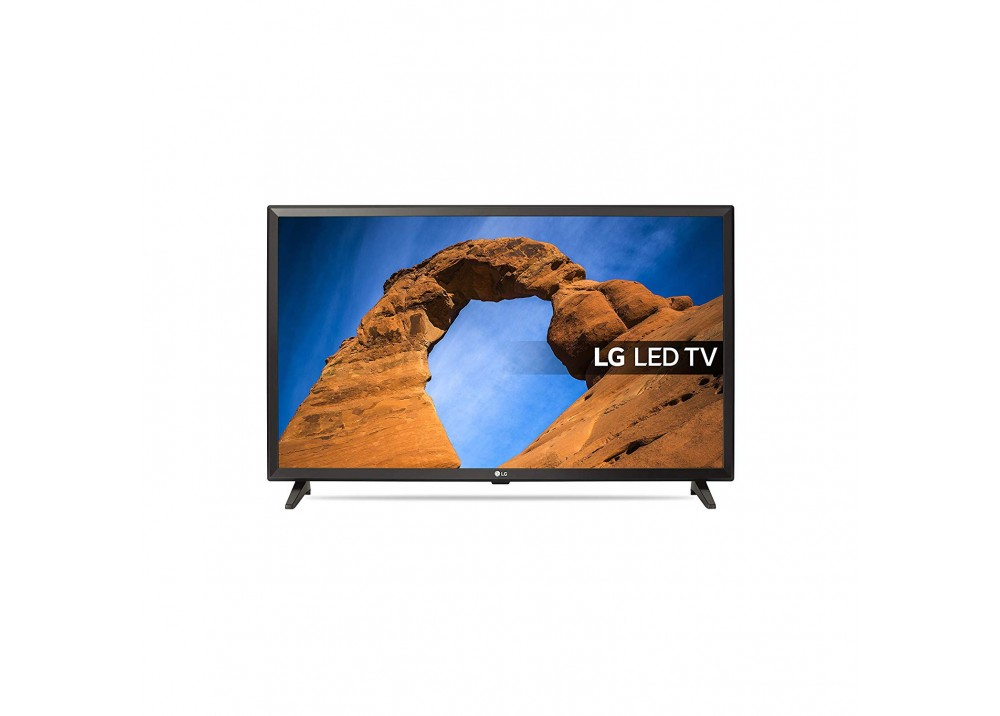 "LG LED TV 32"" LK510BPLD HD WITH RECIVER BLACK KOREA"