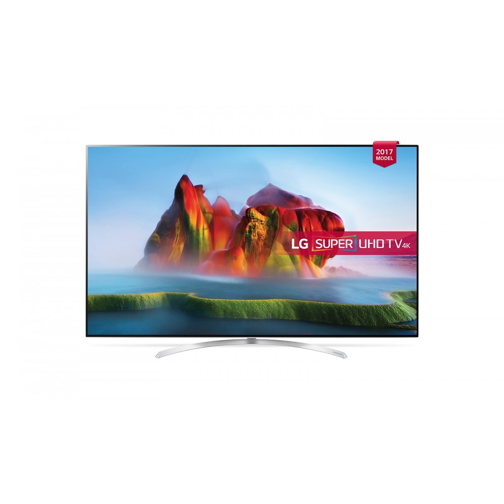 "LG LED TV 55"" SJ850V SUPRE UHD 4K SMART WITH RECIVER WHITE KOREA"