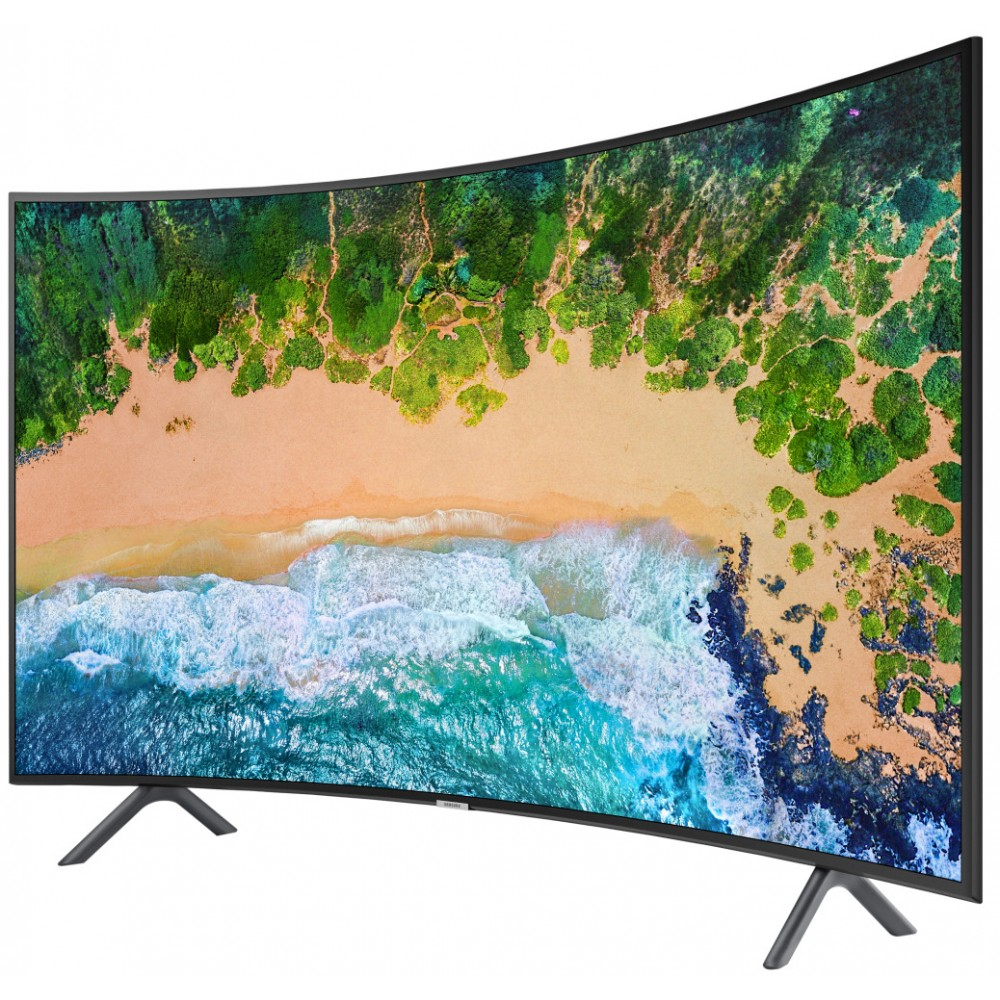 "SAMSUNG CURVED TV 55"" NU7300R ULTRA HD 4K SMART BLACK"