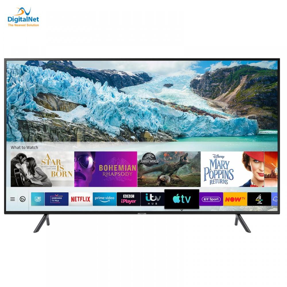 """SAMSUNG TV 43"""" RU7100 HDR SMART 4K  BLACK"""