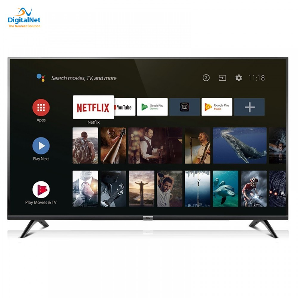 "TCL LED TV S6500 SMART ANDROID 32"" BLACK"
