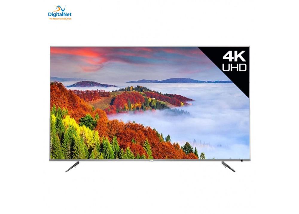 """TCL LED  TV  P6US SMART 4K 43"""" SILVER"""