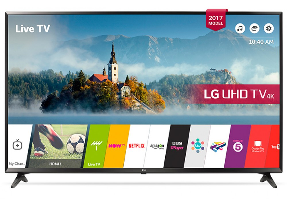 "LG LED TV 43"" UJ630V ULTRA HD 4K SMART"