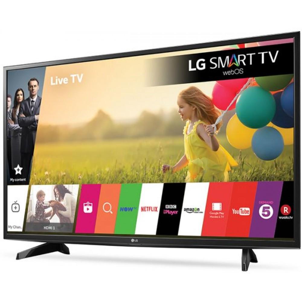 "LG LED TV 43"" LJ610V SMART FULL HD WITH RECEIVER"
