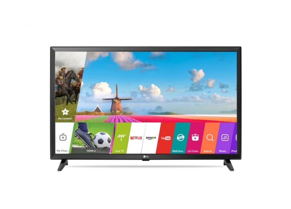 "LG LED TV 32"" LJ 570U SMART WITH RECIVER SILVER KOREA"