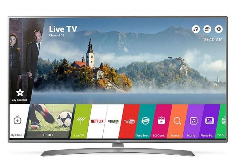 "LG LED TV 65"" UJ670V ULTRA HD 4K SMART WITH RECIVER SILVER KOREA"