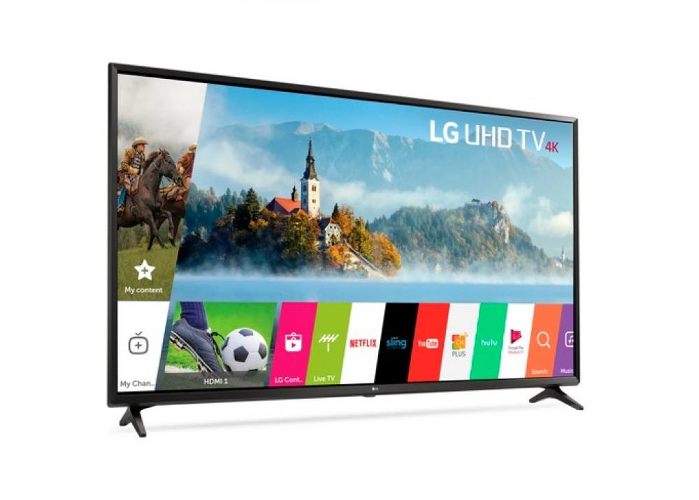 """LG LED TV 60"""" UJ630V ULTRA HD 4K SMART WITH RECIVER BLACK KOREA"""
