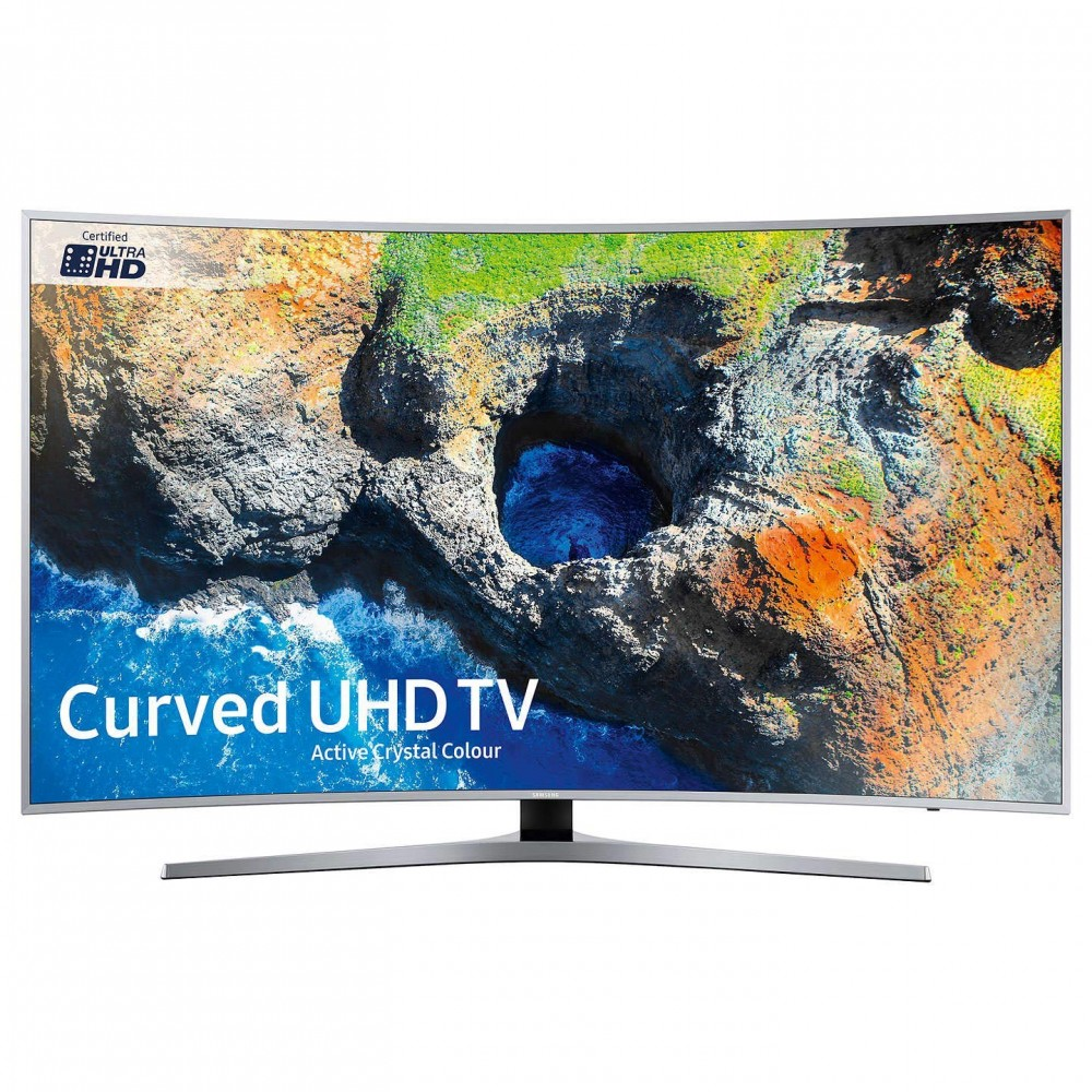 "SAMSUNG CURVED TV 49"" MU6500U ULTRA HD 4K SMART WITH RECIVER SILVER"