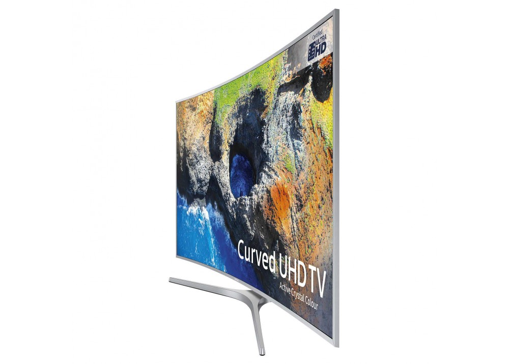 "SAMSUNG CURVED TV 49"" MU6500U ULTRA HD 4K SMART WITH RECIVER SILVER CZECHOSLOVAKIA"