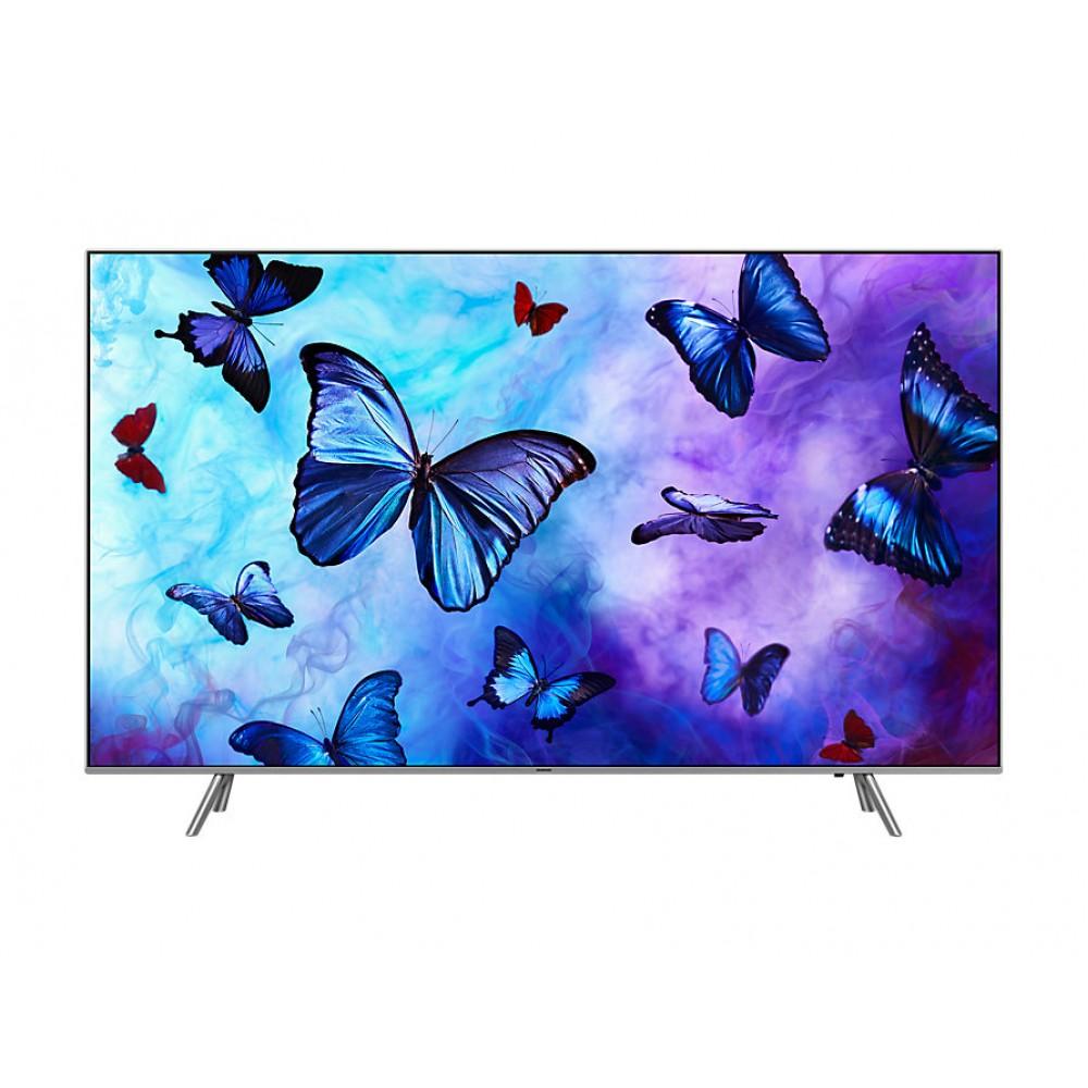 "SAMSUNG QLED TV 55"" Q6FNAK UHD 4K SMART SILVER"