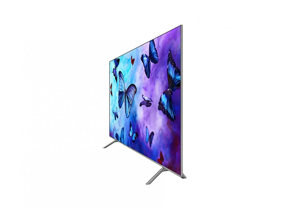 "SAMSUNG QLED TV 55"" Q6FNAK UHD 4K SMART SILVER EGYPT"