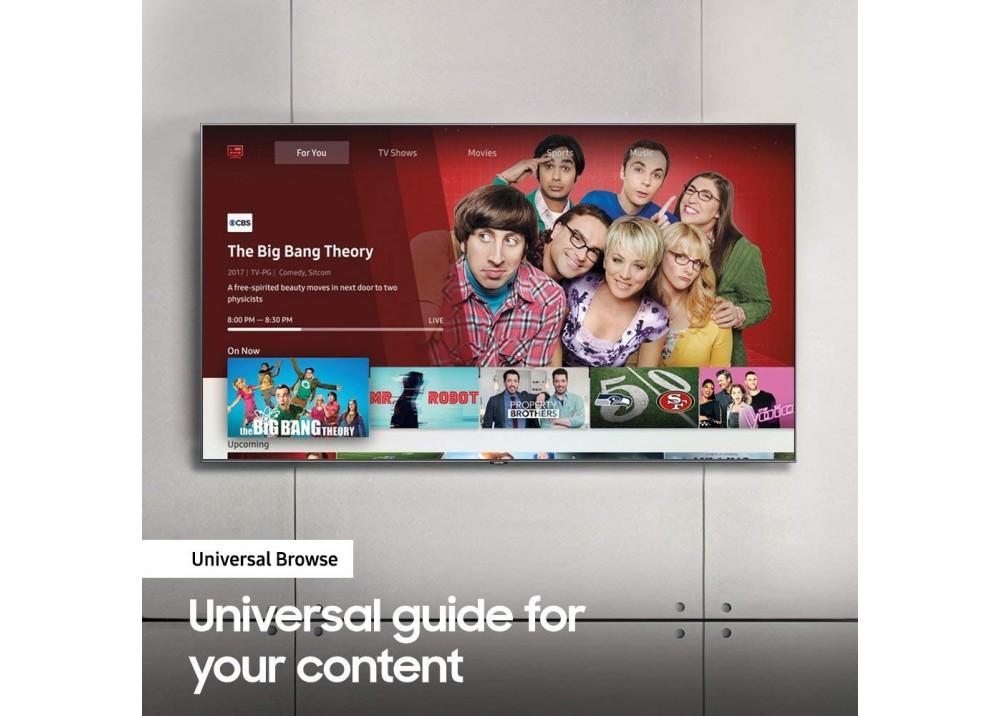 "SAMSUNG LED TV 65"" UN8000 UHD 4K SMART BLACK EGYPT"