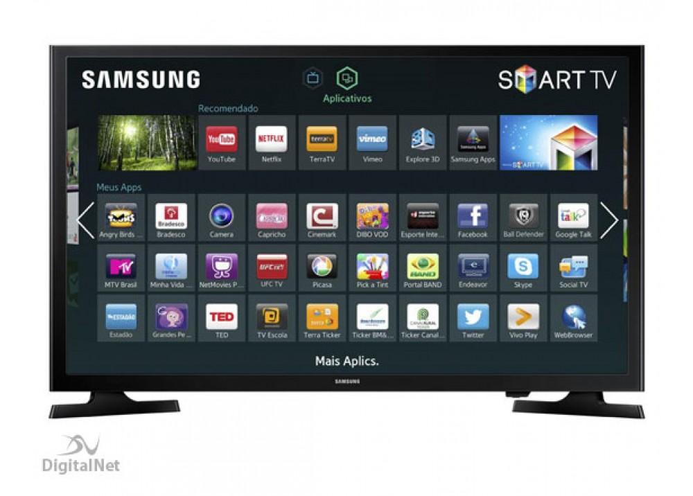 """SAMSUNG LED TV 40"""" J5200 SMART TV FULL HD"""