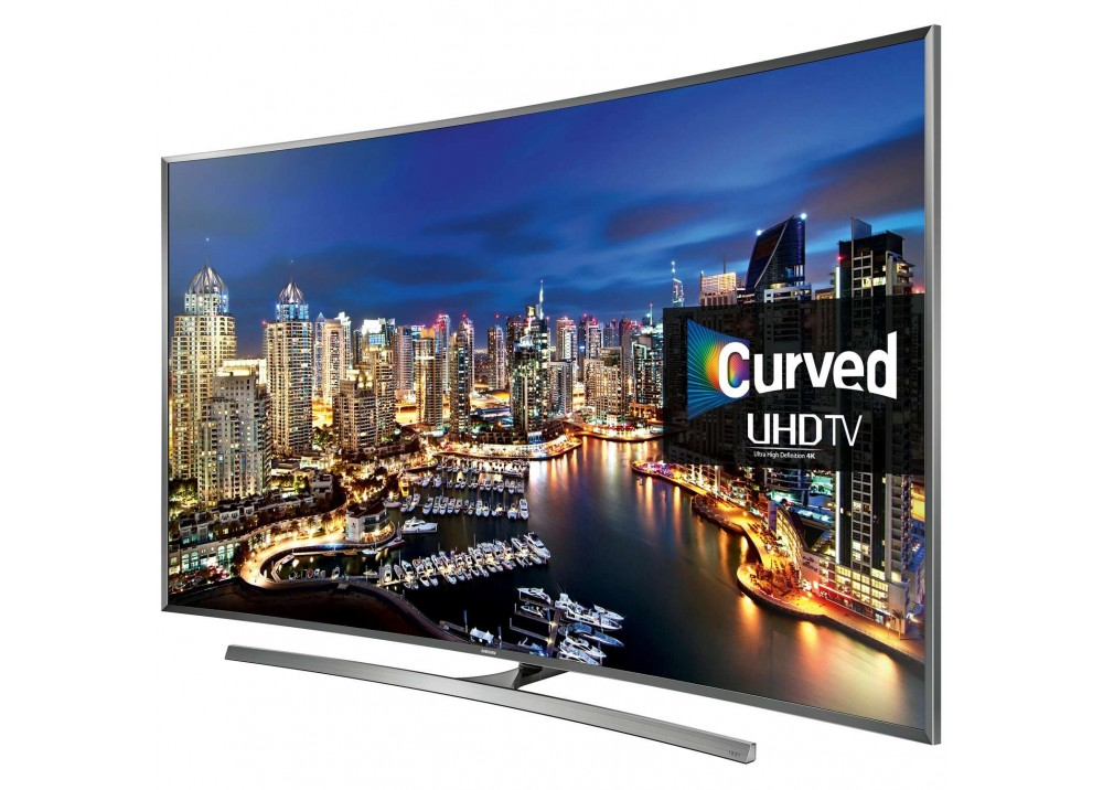"SAMSUNG LED CURVED 4K UHD TV 55"" MU7350 SMART BLACK EGYPT"