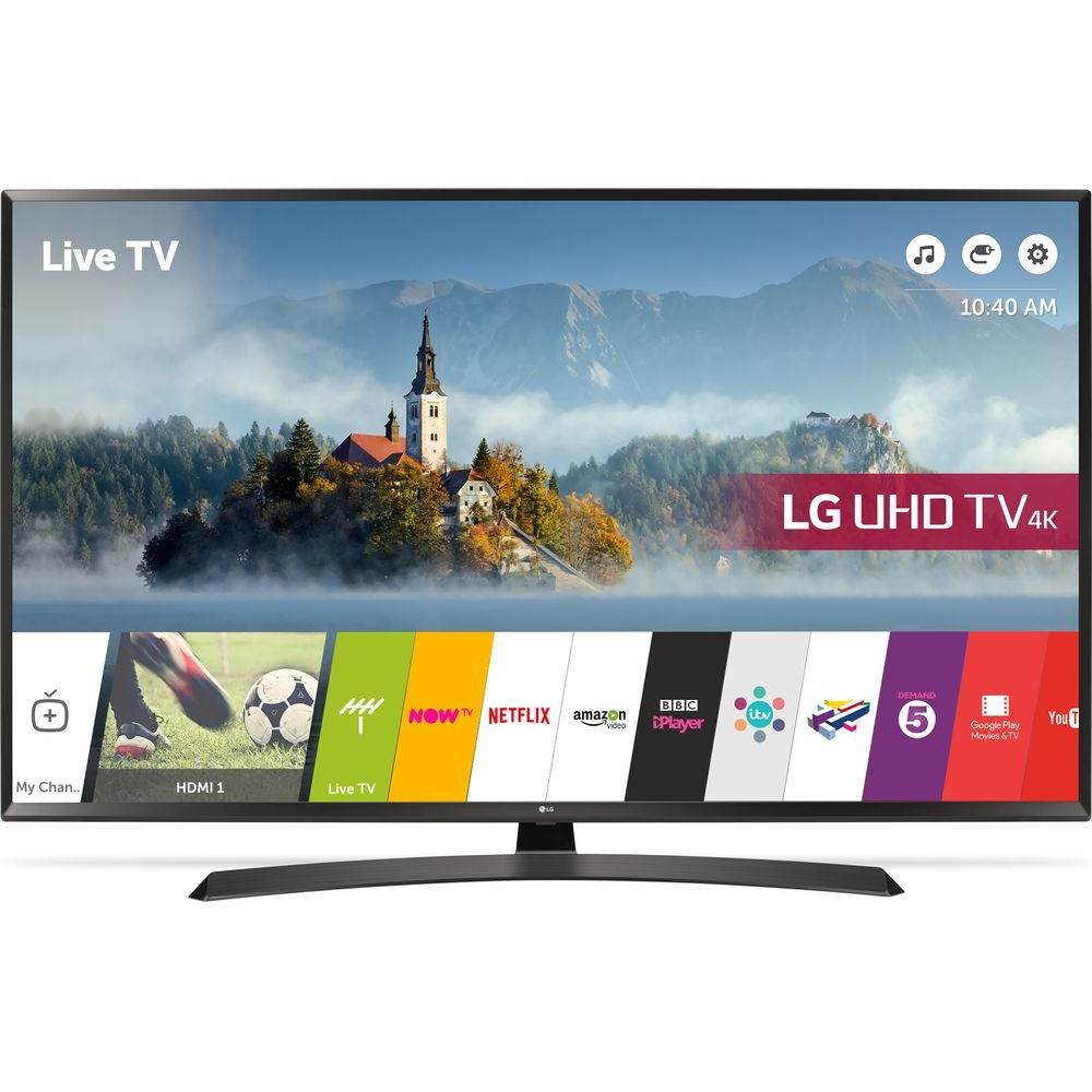 """LG LED TV 49"""" LJ610V SMART FULL HD WITH RECEIVER EGYPT"""