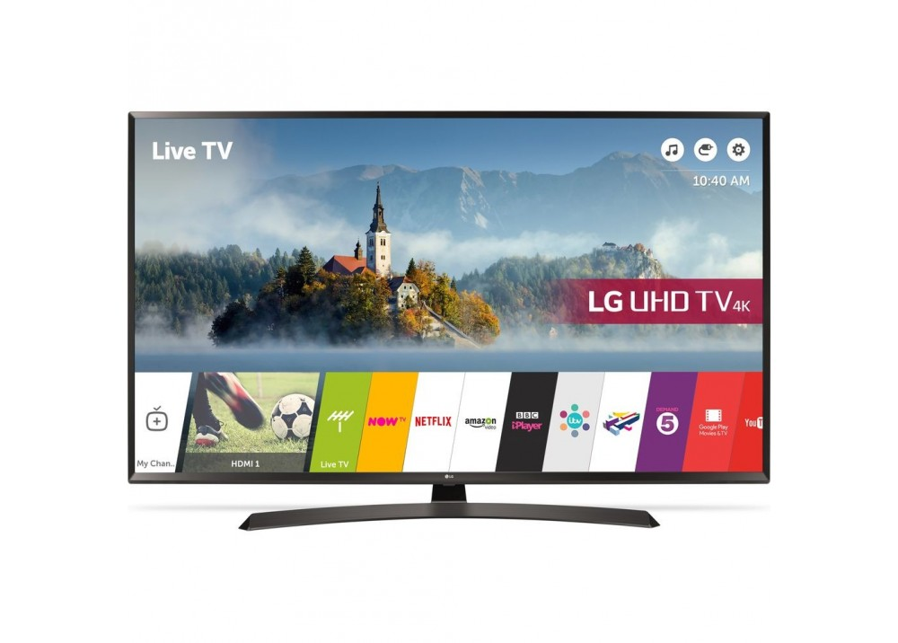 "LG LED TV 49"" LJ610V SMART FULL HD WITH RECEIVER EGYPT"