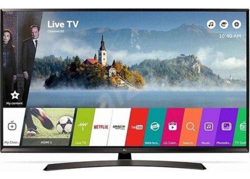"""LG LED TV 65"""" UJ634V ULTRA HD 4K SMART WITH RECIVER BLACK KOREA"""