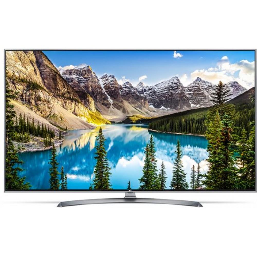 "LG LED TV 43"" UHD UJ752V SMART WITH RECEIVER SILVER KOREA"