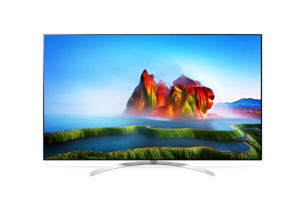 "LG LED TV 55"" SJ800V SUPER UHD 4K SMART WITH RECIVER SILVER KOREA"