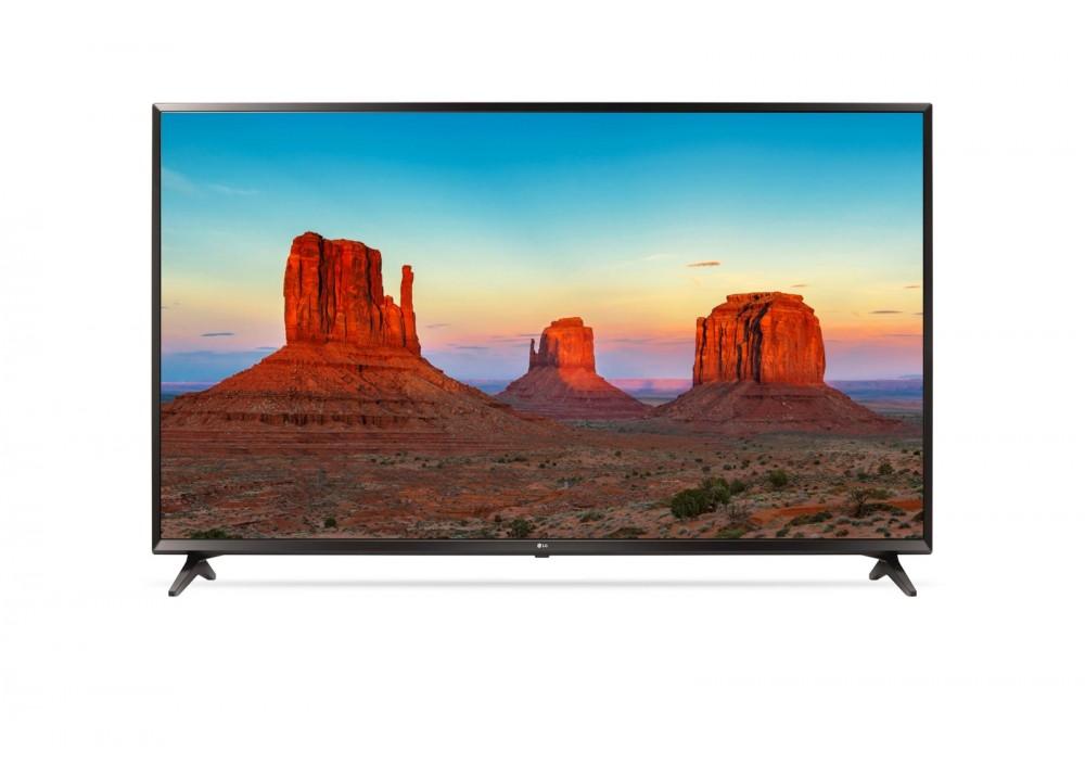 """LG LED TV 55"""" UK6100PVA UHD 4K SMART WITH RECIVER BLACK KOREA"""