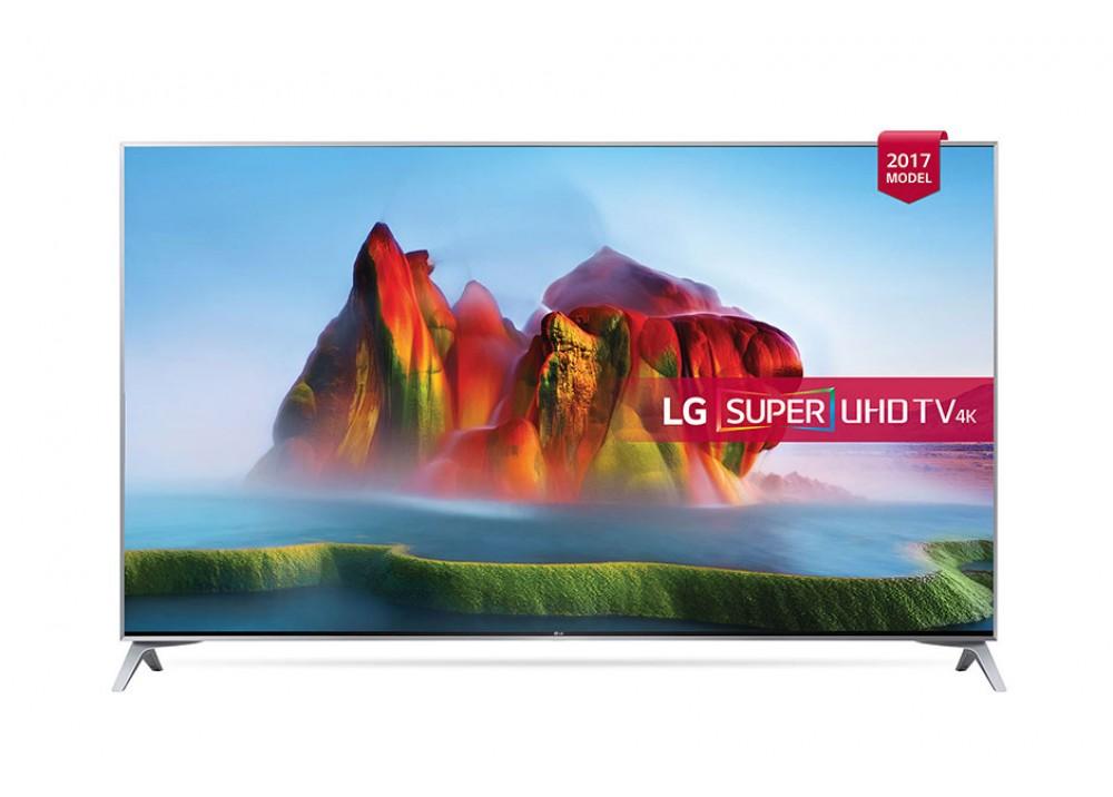 "LG LED TV 65"" SJ800V SUPER UHD SMART WITH RECIVER SILVER KOREA"