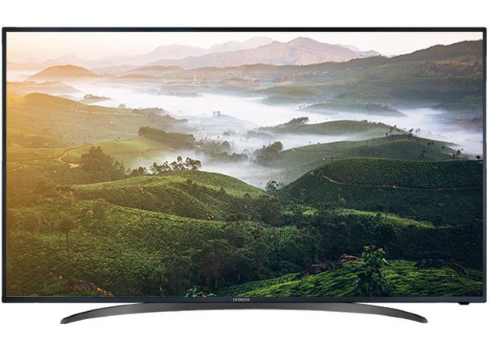 """HITACHI LED TV 65"""" UZ656200 UHD 4K SMART BLACK CHINA"""