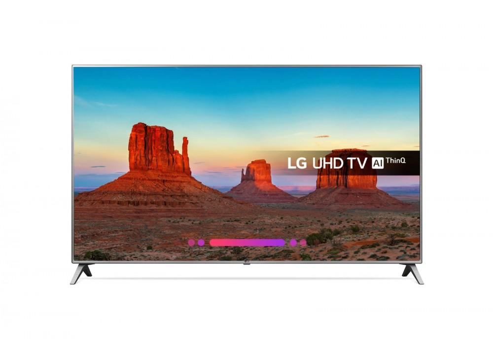"LG LED TV 65"" UK6500PVA ULTRA HD 4K SMART WITH RECIVER SILVER"