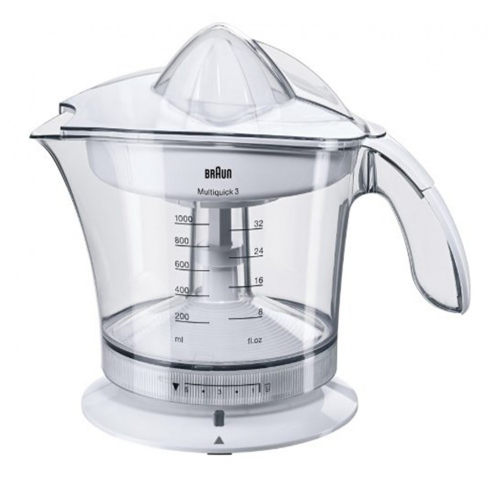 BRAUN JUICE EXTRACTOR MPZ9 WHITE