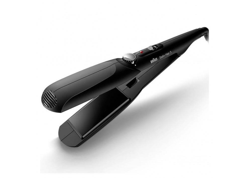 BRAUN HAIR STYLER ST310 WIDE PLATES BLACK