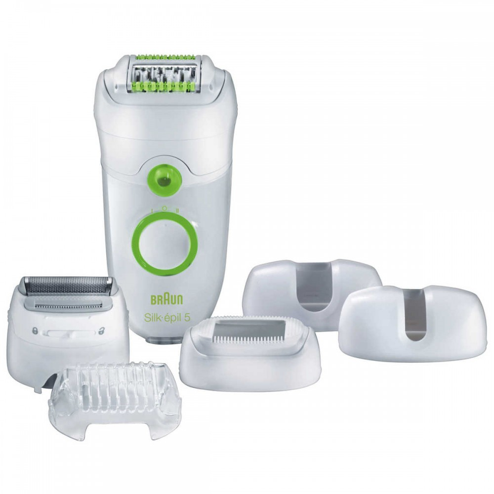BRAUN EPILATOR 5780 WHITE
