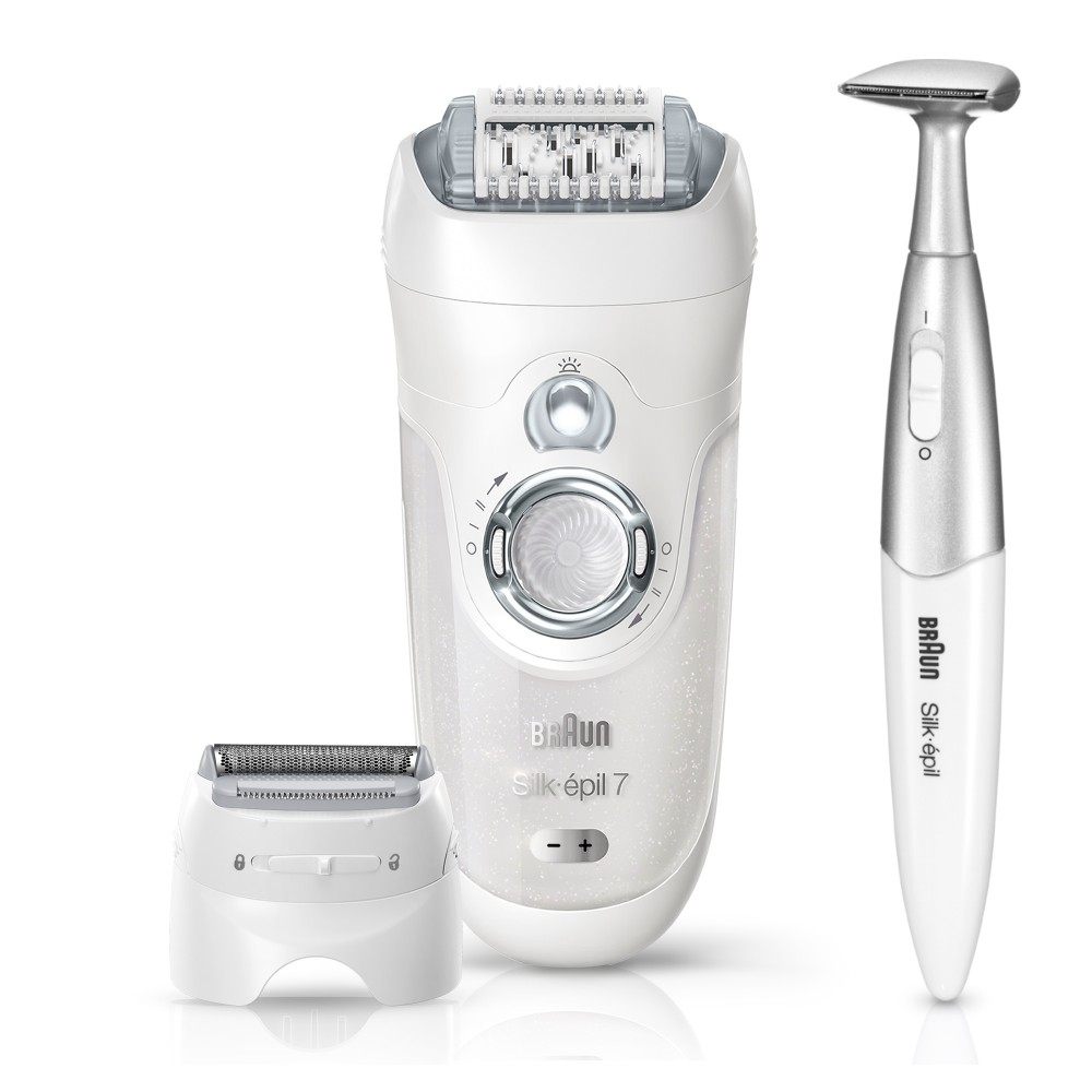 BRAUN EPILATOR 7-561 WHITE