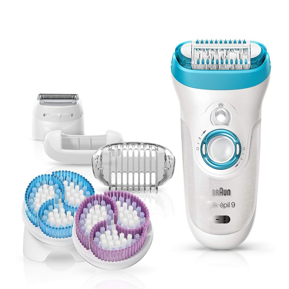 BRAUN EPILATOR 9-961E WHITE