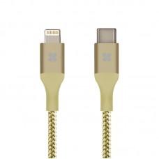 PROMATE USB TYPE-C OTG CABLE UNILINK LTC 120cm GOLD