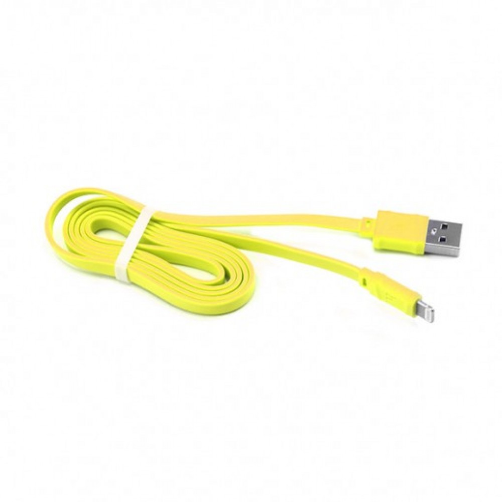 HOCO IPHONE CABLE X5 BAMBOO 1m YELLOW