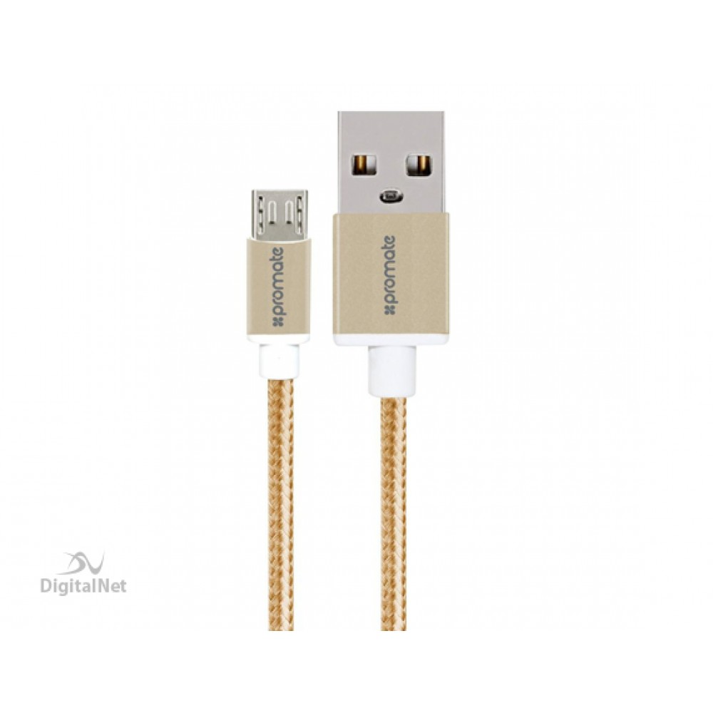 PROMATE MICRO-USB 2M LINKMATE-U2 GOLD
