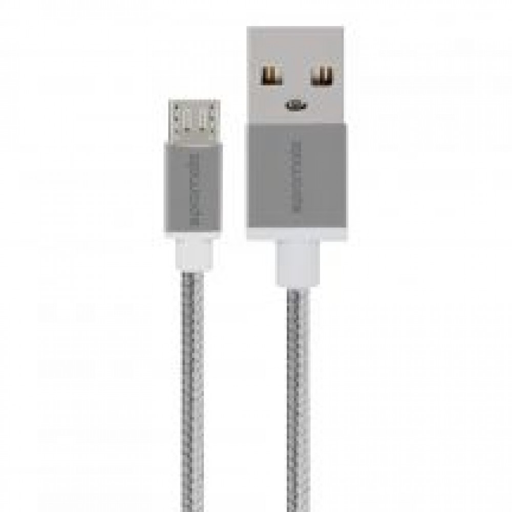 PROMATE MICRO-USB CABLE 1.2M LINKMATE-U2 SILVER