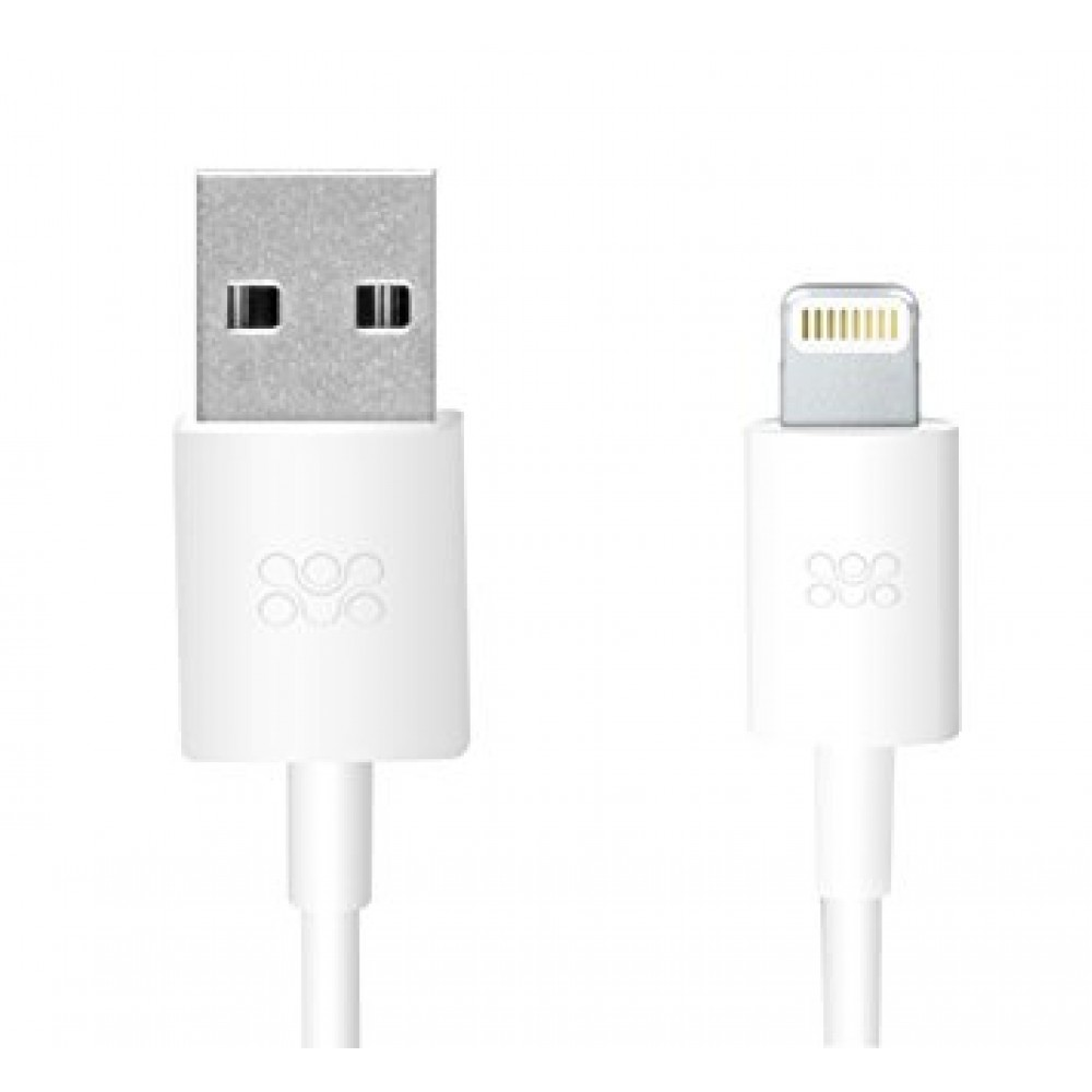 PROMATE CABLE-LT FOR IPHONE WHITE