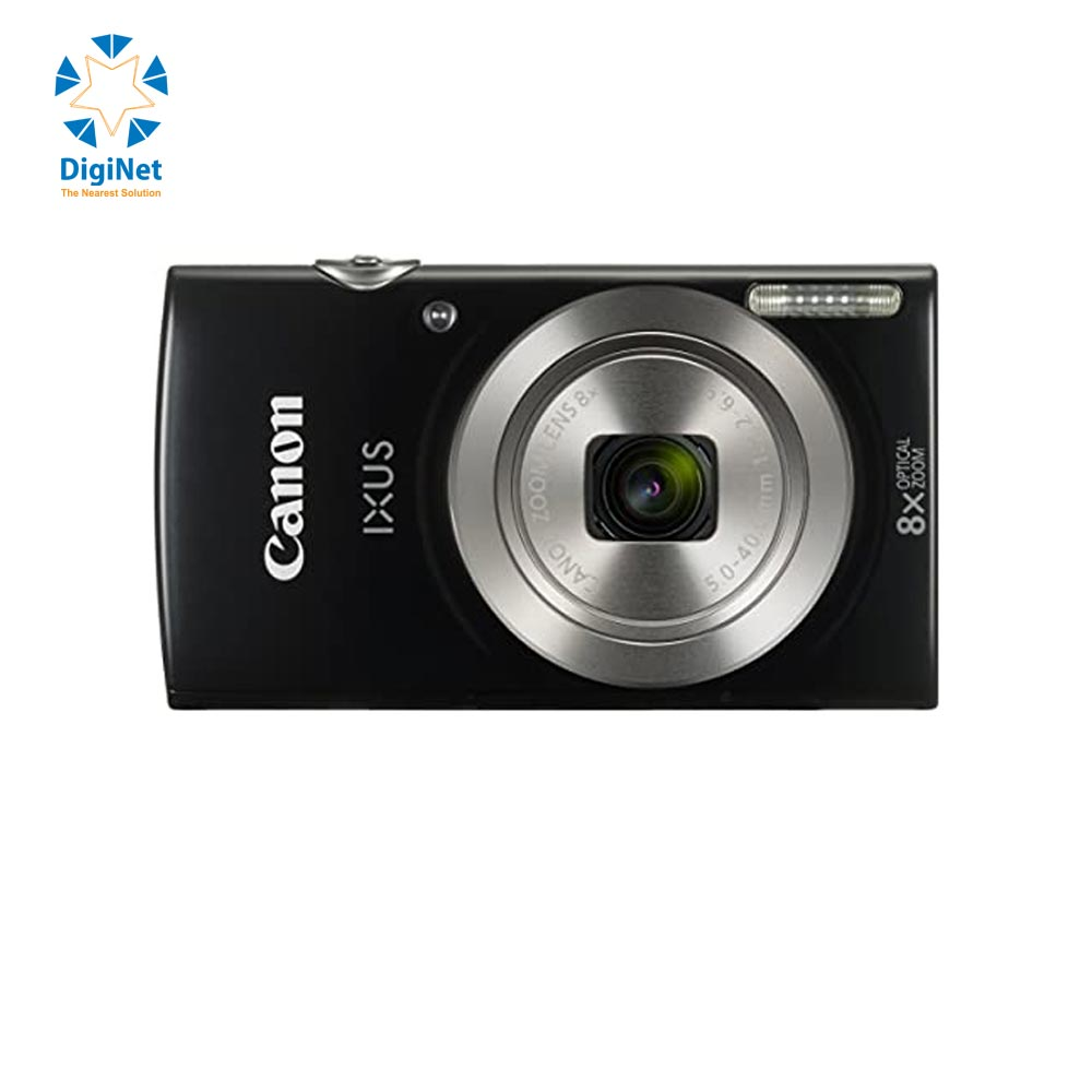 CANON DIGITAL CAMERA POWER SHOT IXUS 185 BLACK