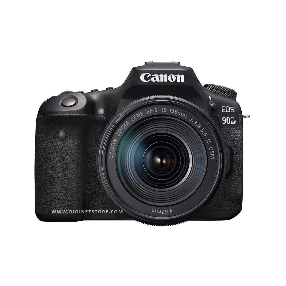 CANON CAMERA EOS 90D 18-135MM LENS
