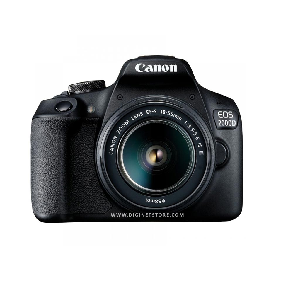 CANON CAMERA EOS-2000D KIT 18-55 III LENS BLACK