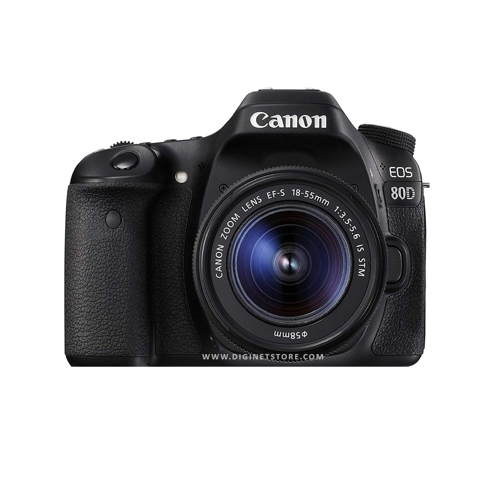 CANON CAMERA EOS-80D KIT 18-55 STM