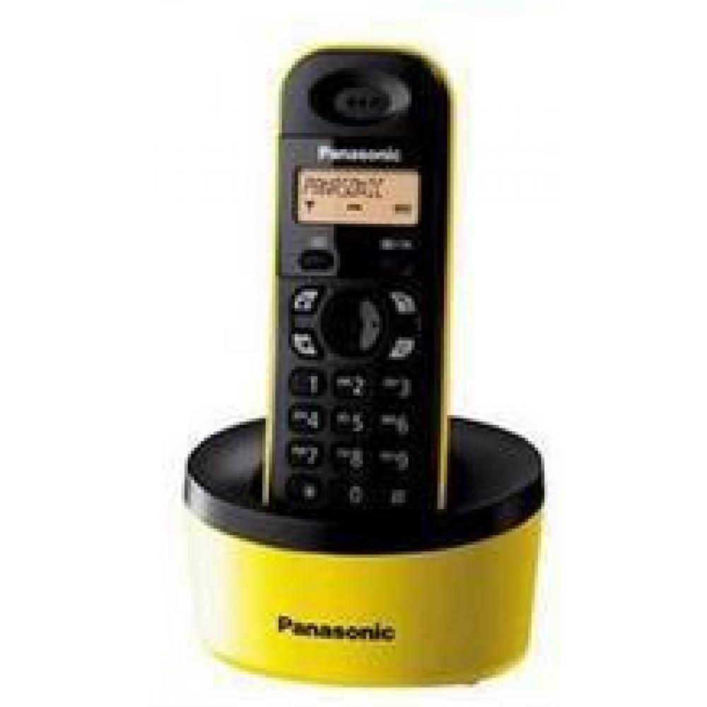 PANASONIC CORDLESS PHONE KX-T1311 YELLOW
