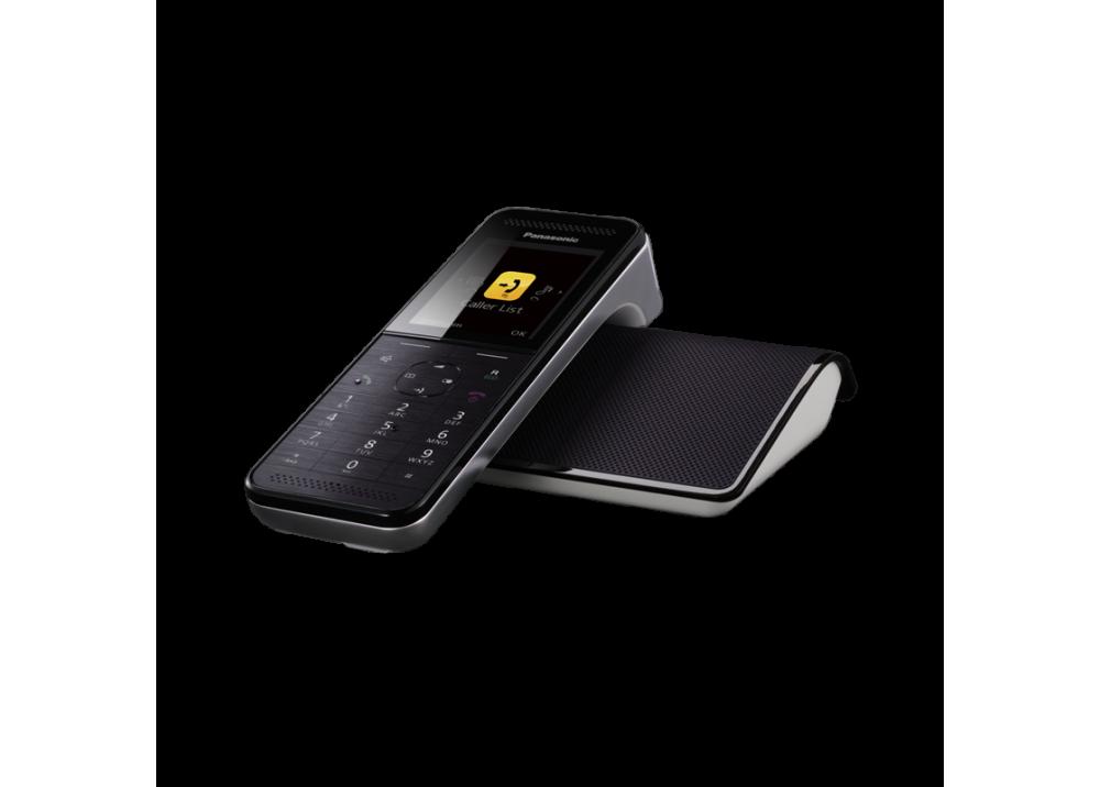 PANASONIC CORDLESS PHONE KX-PRW110 SMART BLACK & WHITE