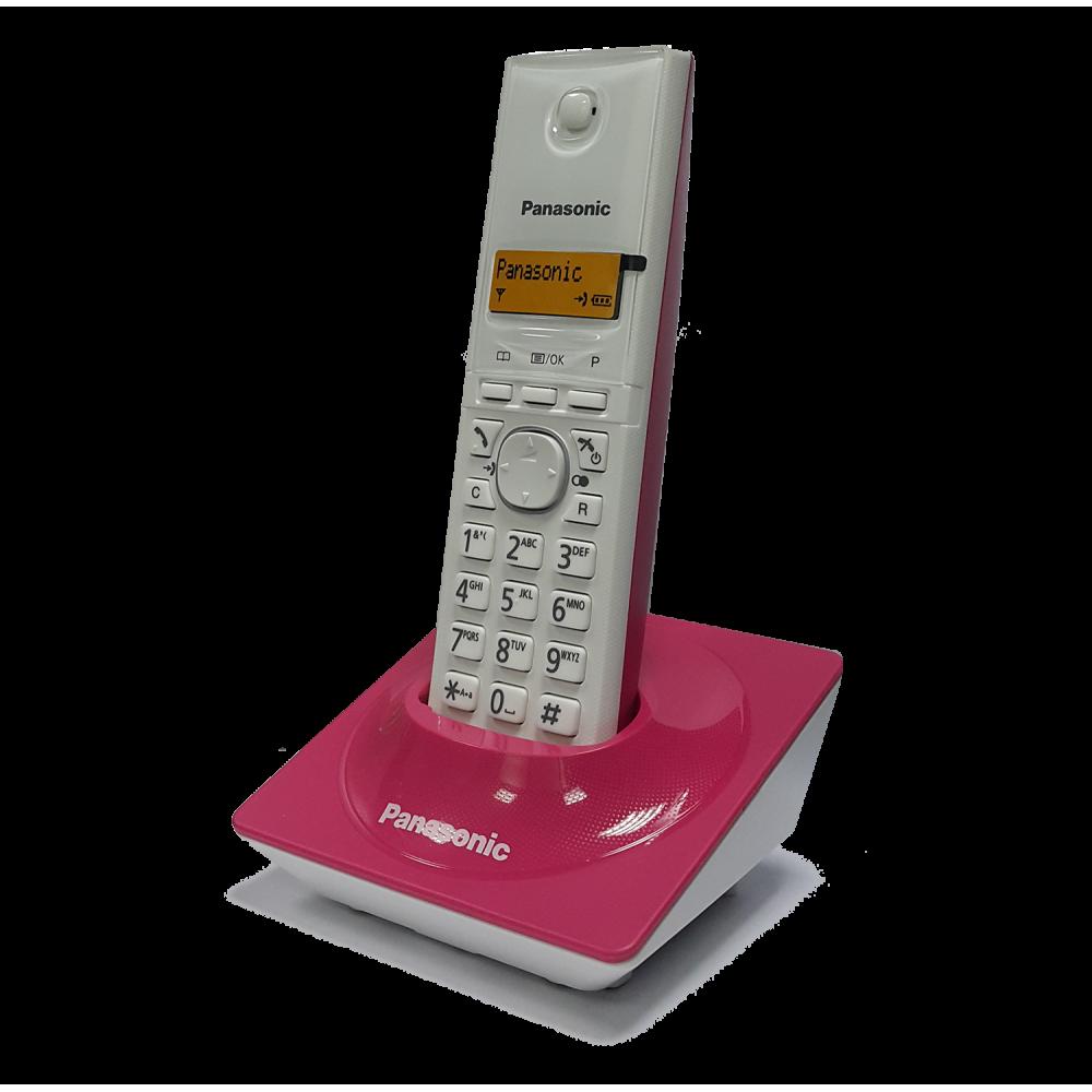 PANASONIC CORDLESS PHONE KX-TG1711 WITH CALLER ID PINK