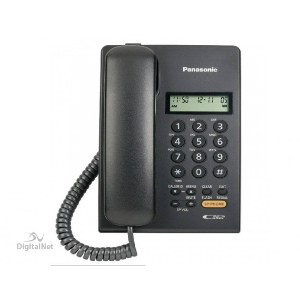 PANASONIC CORDED PHONE KX-T7705X BLACK
