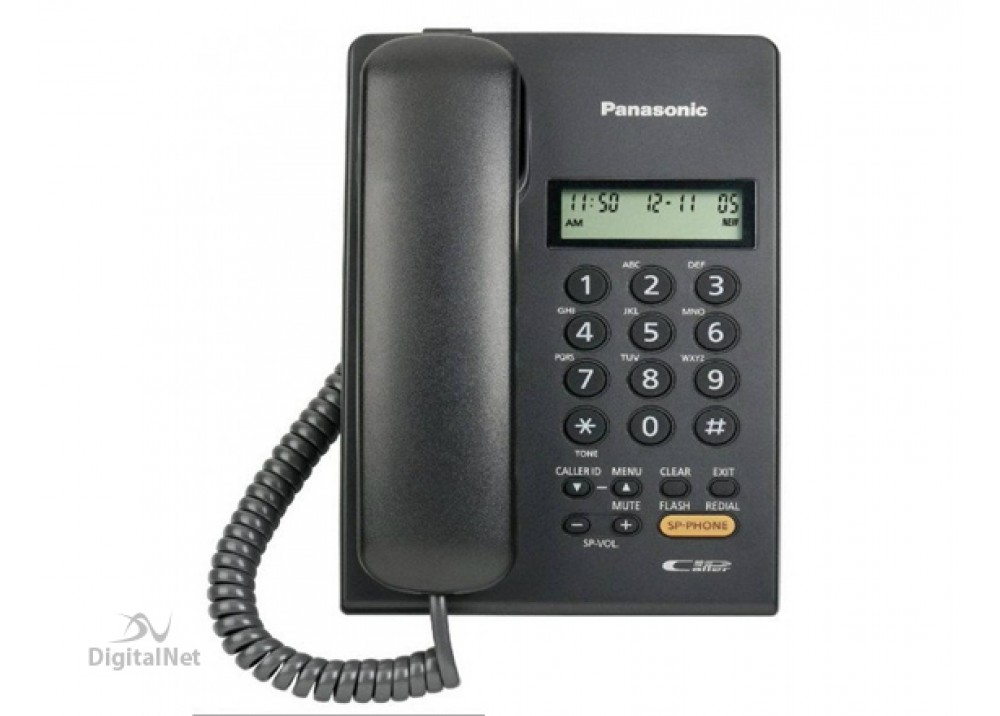 PANASONIC CORDED PHONE KX-T7705X BLACK
