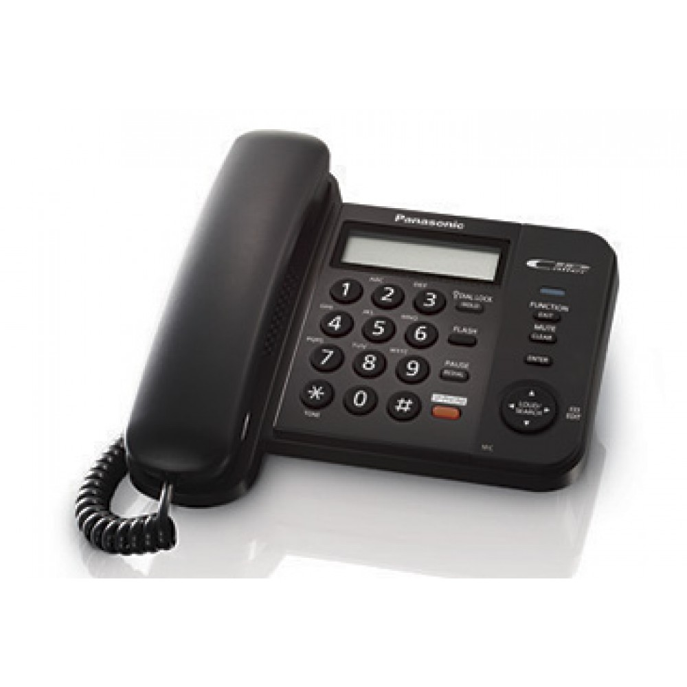 PANASONIC CORD PHONE KX-TS580MX  BLACK